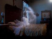 Spirit rising from body